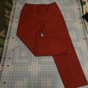 NWT Burnt orange pants size 16